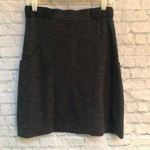 Anthropologie Sparrow Wool Sweater Skirt-Pockets